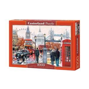 """Castorland (C-103140) - Richard Macneil: """"London Collage"""" - 1000 pièces"""