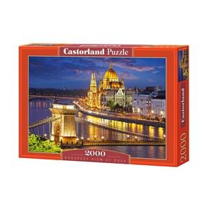 """Castorland (C-200405) - """"Budapest, Hongrie"""" - 2000 pièces"""