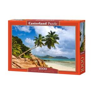 """Castorland (C-103713) - """"Secret Beach, Seychelles"""" - 1000 pièces"""