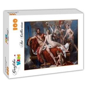 """Grafika (00370) - Jacques-Louis David: """"Mars désarmé par Vénus, 1824"""" - 100 pièces"""
