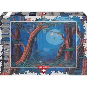 "Art Puzzle (61020) - Ahmet Yesil: ""My Childhood"" - 1000 pièces"