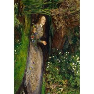 "Grafika (00362) - John Everett Millais: ""Ophelia, 1851"" - 1000 pièces"