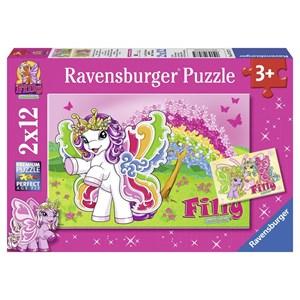 """Ravensburger (07577) - """"Scarlet"""" - 12 pièces"""