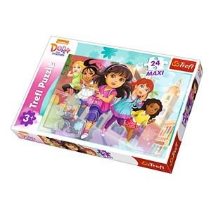"Trefl (14242) - ""Dora"" - 24 pièces"