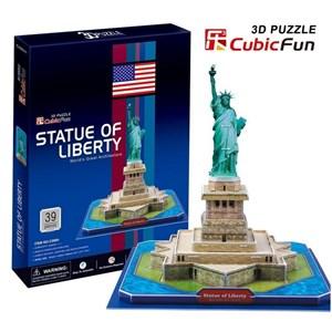 """Cubic Fun (C080H) - """"New-York, Statue de la Liberté"""" - 39 pièces"""