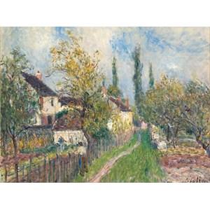 """Grafika (00183) - Alfred Sisley: """"Un Sentier aux Sablons"""" - 2000 pièces"""
