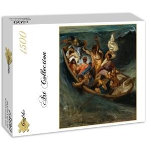 """Grafika (00777) - Eugene Delacroix: """"Christ sur la Mer de Galilée, 1841"""" - 1500 pièces"""