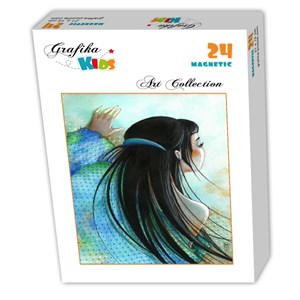 "Grafika Kids (00738) - Misstigri: ""Plumetis"" - 24 pièces"