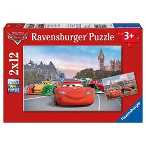 """Ravensburger (07554) - """"Cars à Paris et à Londres"""" - 12 pièces"""