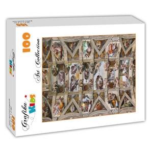 """Grafika Kids (00077) - Michelangelo: """"La Chapelle Sixtine"""" - 100 pièces"""