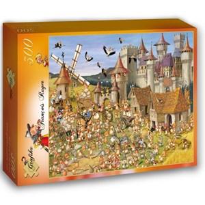 """Grafika (00813) - François Ruyer: """"Le Château des Lapins"""" - 300 pièces"""