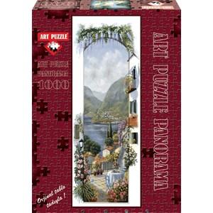 """Art Puzzle (4335) - Peter Motz: """"Lago Maggiore"""" - 1000 pièces"""