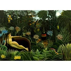 """Grafika Kids (00305) - Henri Rousseau: """"The Dream, 1910"""" - 24 pièces"""