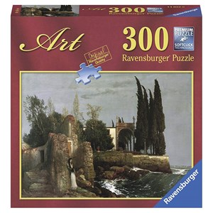 "Ravensburger (14022) - Arnold Böcklin: ""Ruines au Bord de la Mer"" - 300 pièces"
