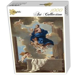 """Grafika (01666) - Nicolas Poussin: """"Assomption de la Vierge, 1630/1632"""" - 1000 pièces"""
