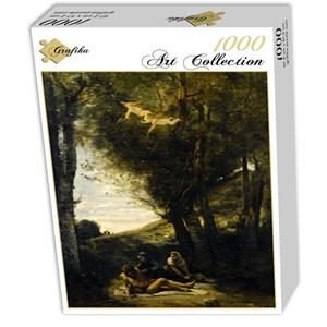 "Grafika (01943) - Jean-Baptiste-Camille Corot: ""Saint Sebastian Succored by the Holy Women, 1874"" - 1000 pièces"