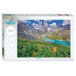 """Step Puzzle (78095) - """"Montagnes de l'Altaï"""" - 560 pièces"""