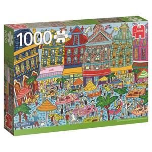 """Jumbo (18562) - """"Grand Place, Brüssel"""" - 1000 pièces"""