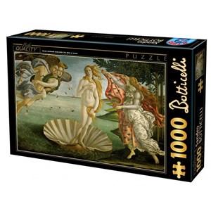 "D-Toys (72672-BO01) - Sandro Botticelli: ""The Birth of Venus"" - 1000 pièces"