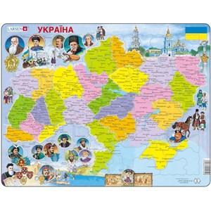 """Larsen (K62-UA) - """"Carte de l'Ukraine -UA"""" - 82 pièces"""