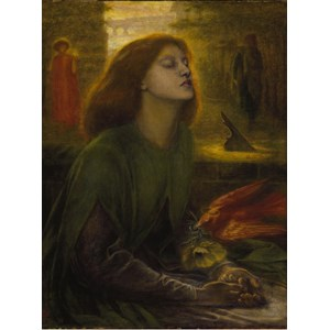 "Grafika (00225) - Dante Gabriel Rossetti: ""Beata Beatrix, 1872"" - 2000 pièces"
