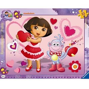 "Ravensburger (06611) - ""Adorable Dora"" - 35 pièces"