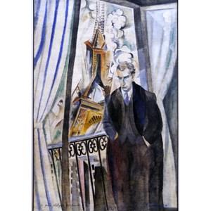 """Grafika (00316) - Robert Delaunay: """"Le Poète Philippe Soupault, 1922"""" - 1000 pièces"""
