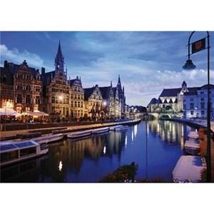 """D-Toys (64301-NL03) - """"Belgique, Gand"""" - 1000 pièces"""