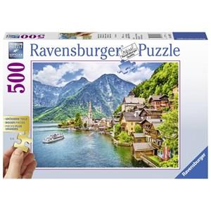 """Ravensburger (13687) - """"Hallstatt, Autriche"""" - 500 pièces"""
