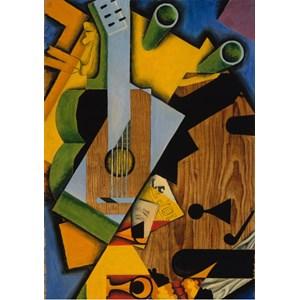 "Grafika (00293) - Juan Gris: ""Still Life with a Guitar, 1913"" - 1000 pièces"