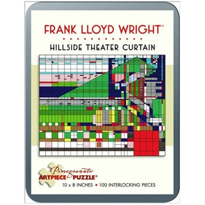 "Pomegranate (AA760) - Frank Lloyd Wright: ""Hillside Theater Curtain"" - 100 pièces"