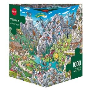 "Heye (29680) - Birgit Tanck: ""Alpine Fun"" - 1000 pièces"