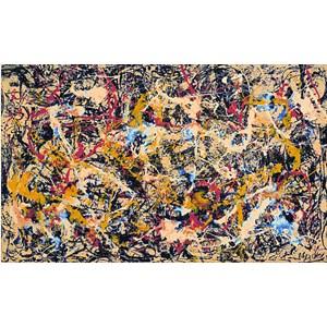 "Pomegranate (AA558) - Jackson Pollock: ""Convergence, 1952"" - 1000 pièces"