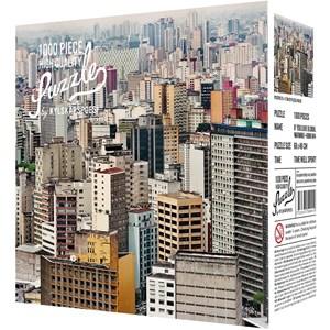 """Kylskåpspoesi (00501) - Jens Assur: """"Sao Paulo by Jens Assur"""" - 1000 pièces"""