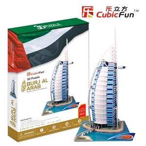 """Cubic Fun (MC101H) - """"Dubai, Burj Al Arab"""" - 101 pièces"""