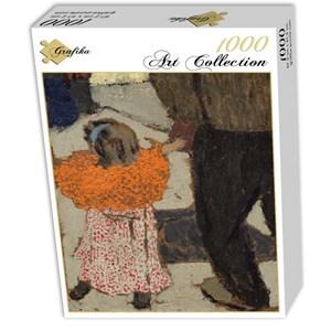 "Grafika (01810) - Edouard Vuillard: ""Enfant portant un foulard rouge, 1891"" - 1000 pièces"