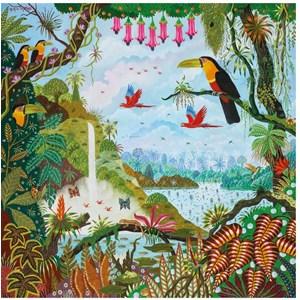 "Puzzle Michele Wilson (Z88) - Alain Thomas: ""Eden Garden"" - 30 pièces"