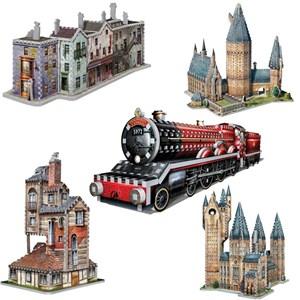 """Wrebbit (Wrebbit-Set-Harry-Potter-3) - """"Harry Potter Set"""" - 3050 pièces"""