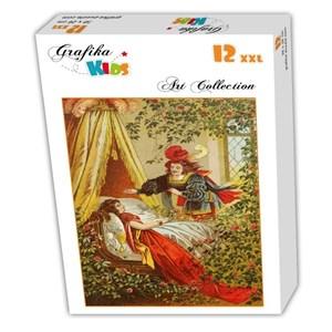 """Grafika Kids (00116) - Carl Offterdinger: """"La Belle au Bois Dormant"""" - 12 pièces"""