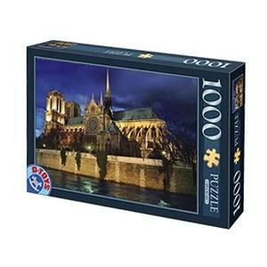 """D-Toys (64301-NL08) - """"France, Cathédrale Notre-Dame de Paris"""" - 1000 pièces"""