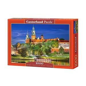 """Castorland (C-103027) - """"Château Wawel la Nuit, Cracovie, Pologne"""" - 1000 pièces"""