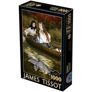 "D-Toys (72771-1) - James Tissot: ""On the Thames, A Heron"" - 1000 pièces"
