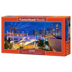 """Castorland (B-060139) - """"Marina Bay, Singapore"""" - 600 pièces"""