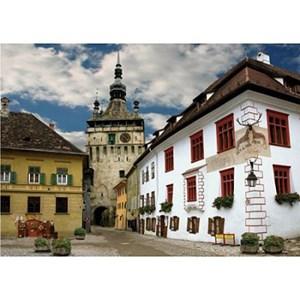 "D-Toys (65995-DE02) - ""Schasburg, Sighisoara, Romania"" - 1000 pièces"