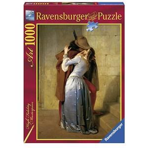 """Ravensburger (15405) - Francesco Hayez: """"Le baiser"""" - 1000 pièces"""