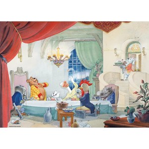 "PuzzelMan (456) - Marten Toonder: ""A table"" - 1000 pièces"