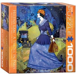 """Eurographics (8000-0515) - Helena Lam: """"Balade à Paris"""" - 1000 pièces"""