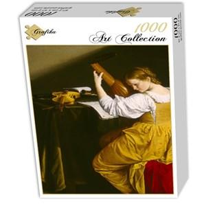 "Grafika (01781) - Orazio Gentileschi: ""La Joueuse de Luth, 1612-1620"" - 1000 pièces"