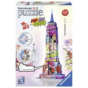 """Ravensburger (12599) - """"Empire State Building Pop Art"""" - 216 pièces"""