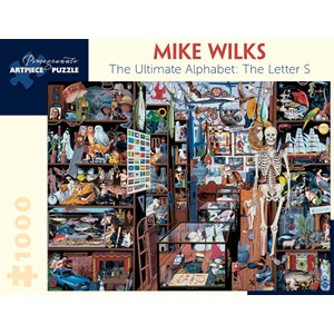 """Pomegranate (AA896) - Mike Wilks: """"The Ultimate Alphabet: The Letter S"""" - 1000 pièces"""